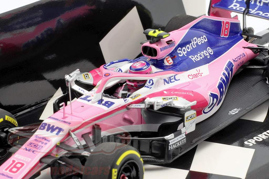Lance Stroll Racing Point RP19 #18 formula 1 2019 1:43 Minichamps