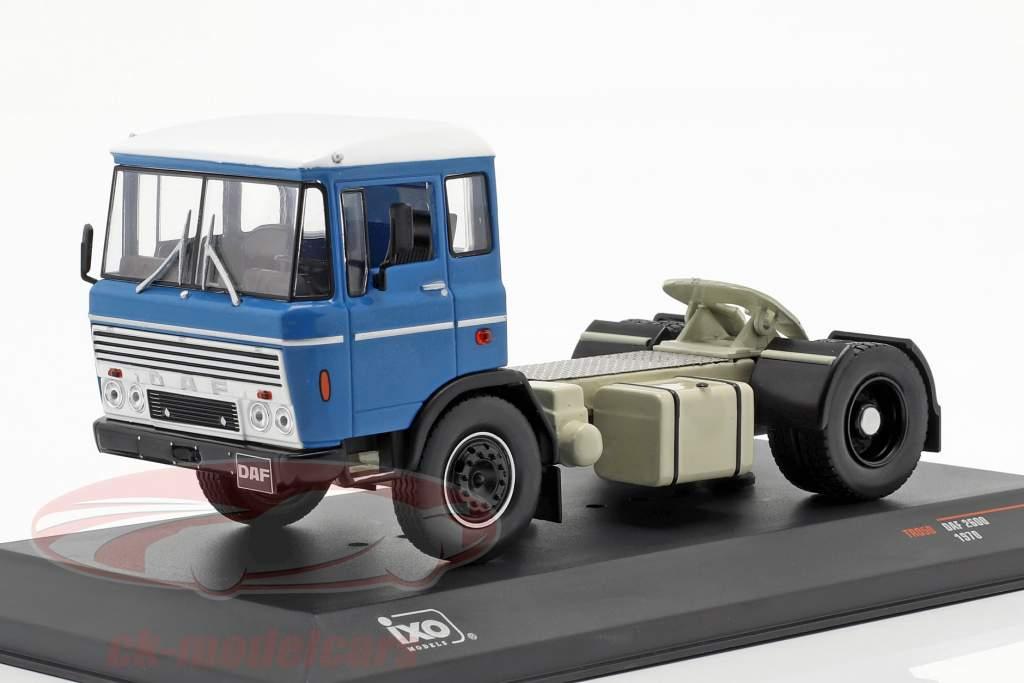 DAF 2600 caminhão ano de construção 1970 azul 1:43 Ixo