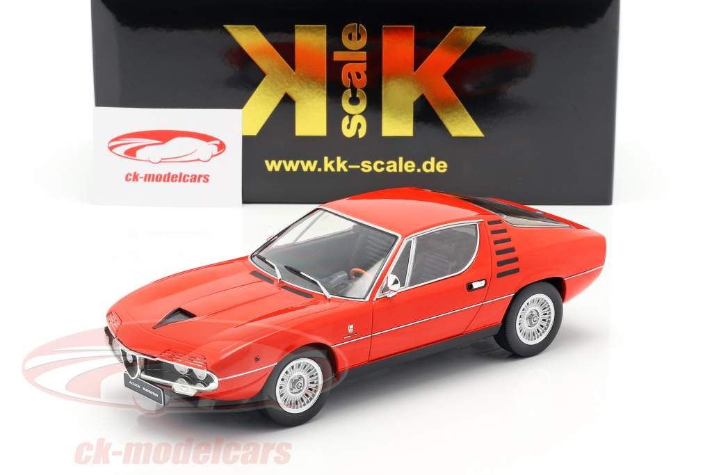 Alfa Romeo Montreal year 1970 red 1:18 KK-Scale