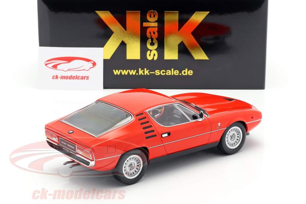 Alfa Romeo Montreal anno di costruzione 1970 rosso 1:18 KK-Scale