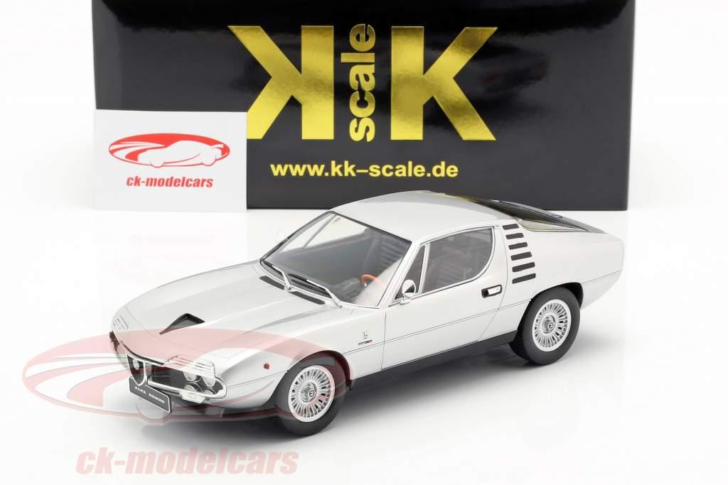 Alfa Romeo Montreal año de construcción 1970 plata 1:18 KK-Scale