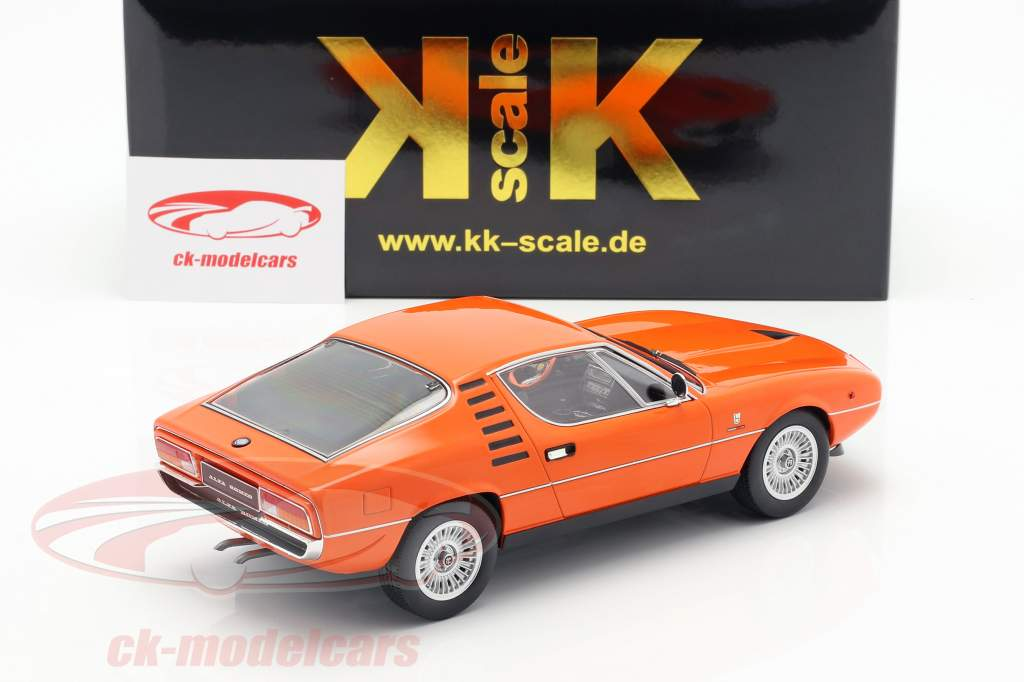 Alfa Romeo Montreal year 1970 orange 1:18 KK-Scale
