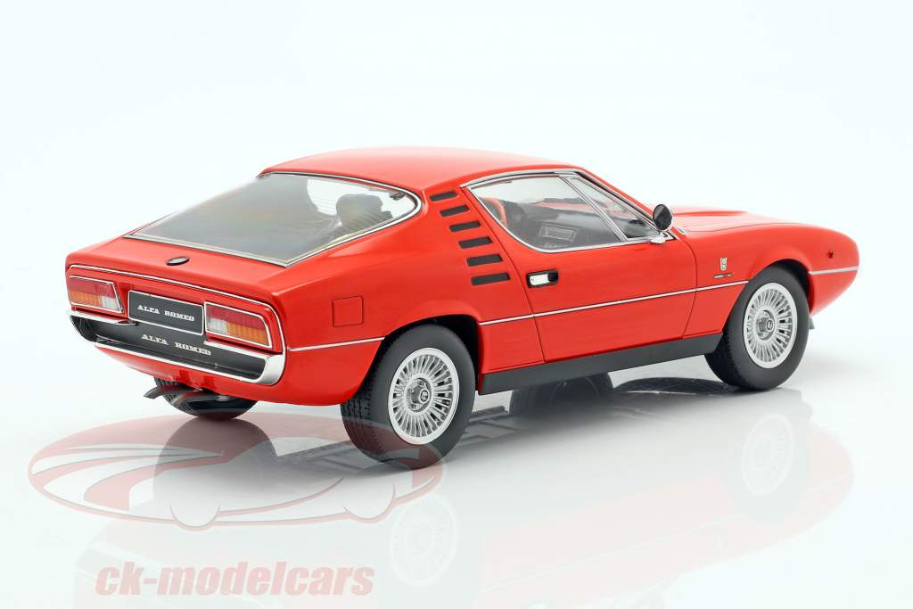 Alfa Romeo Montreal Opførselsår 1970 rød 1:18 KK-Scale