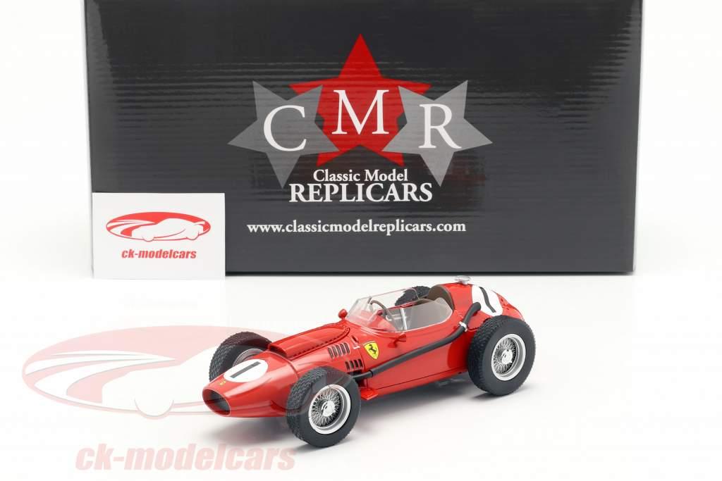 Peter Collins Ferrari Dino 246 #1 ganador británico GP fórmula 1 1958 1:18 CMR