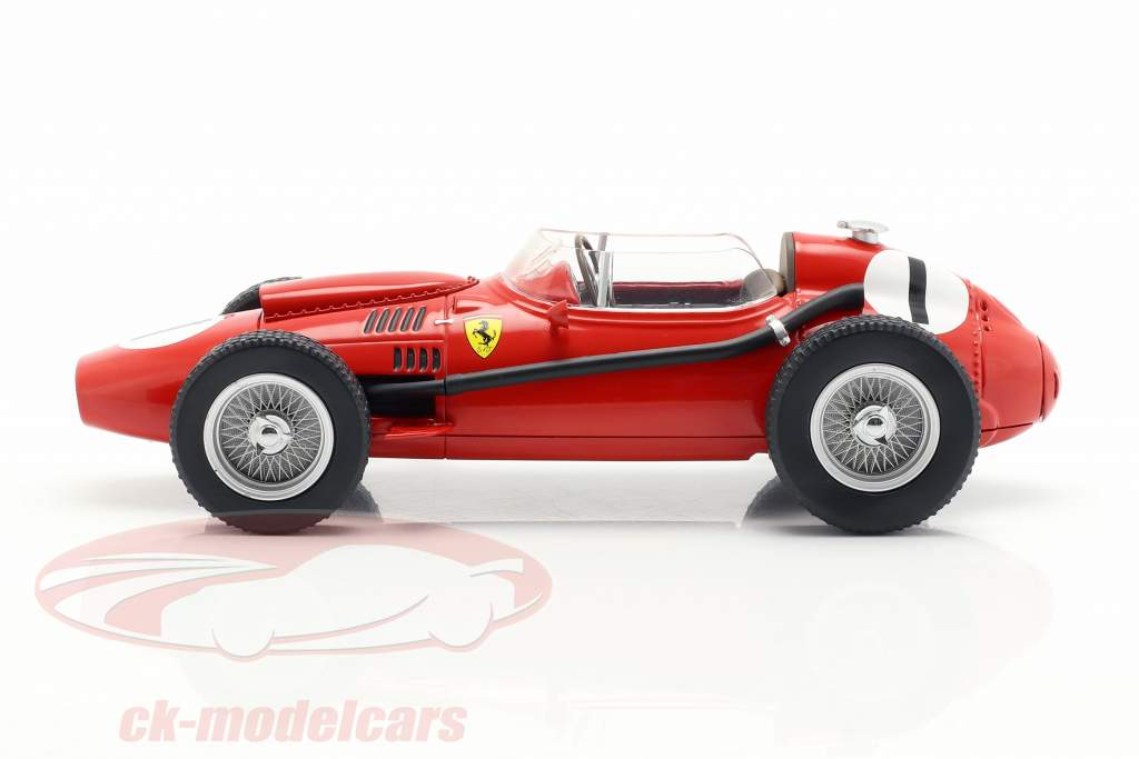Peter Collins Ferrari Dino 246 #1 vencedor britânico GP fórmula 1 1958 1:18 CMR