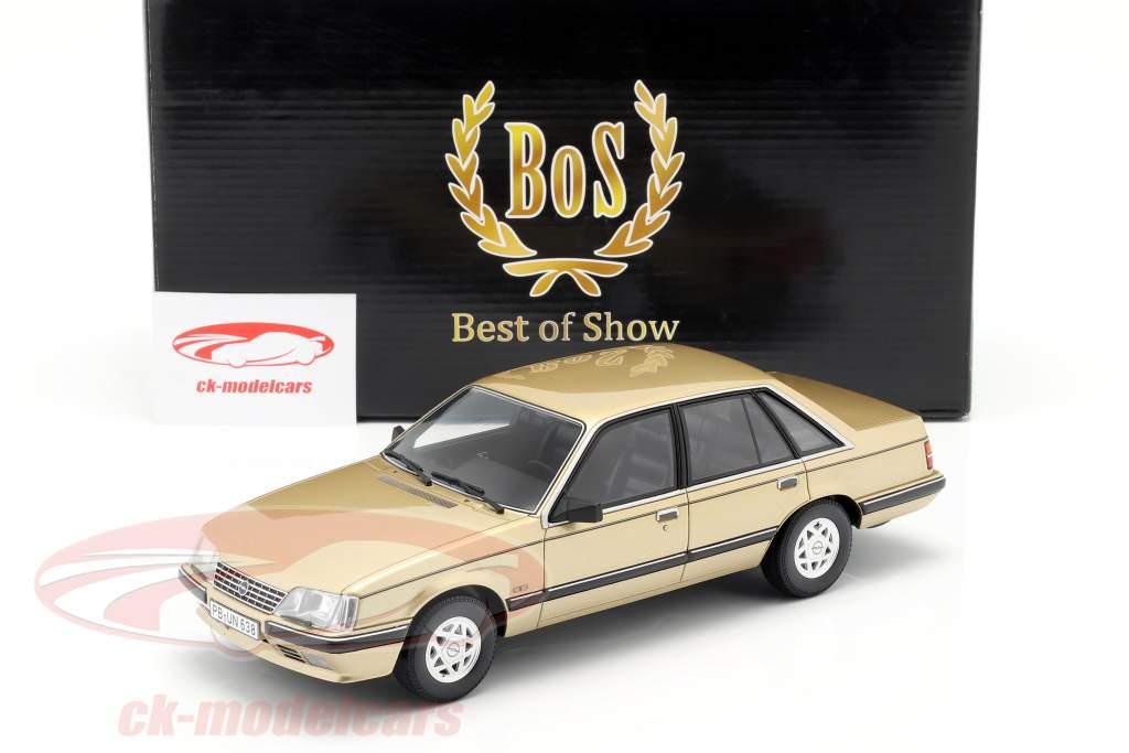 Opel Senator A2 3.0 CD Construction year 1984 beige metallic 1:18 BoS Models / 2. choice