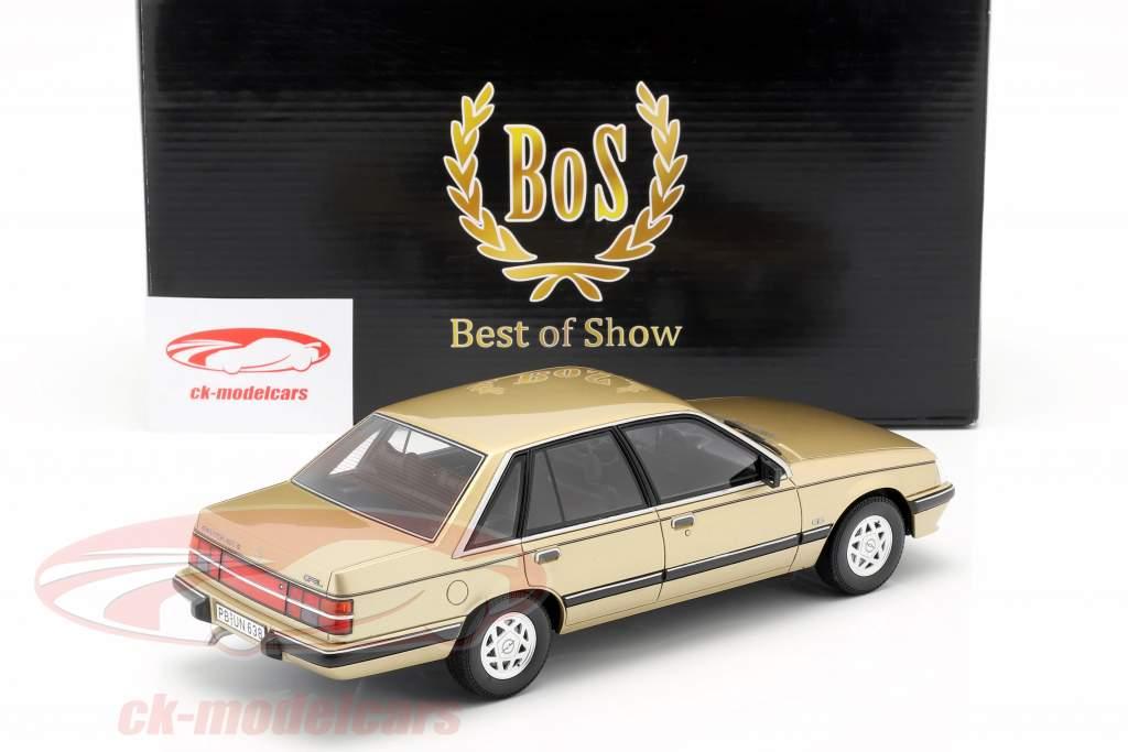 Opel Senator A2 3.0 CD ano de construção 1984 bege metálico 1:18 BoS Models / 2. eleição