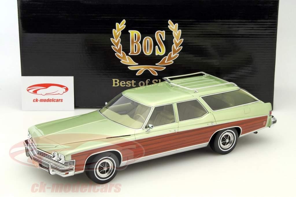 Buick Estate Wagon hellgrün metallic 1:18 BoS-Models / 2. Wahl