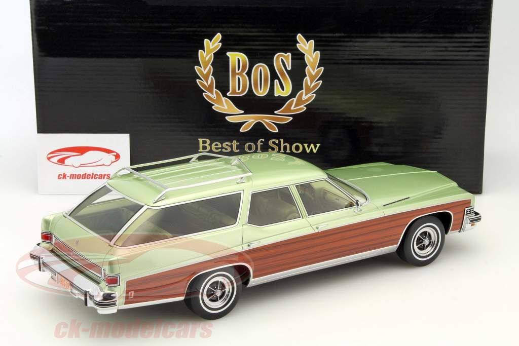 Buick Estate Wagon calce metallico 1:18 BoS-Models / 2. elezione