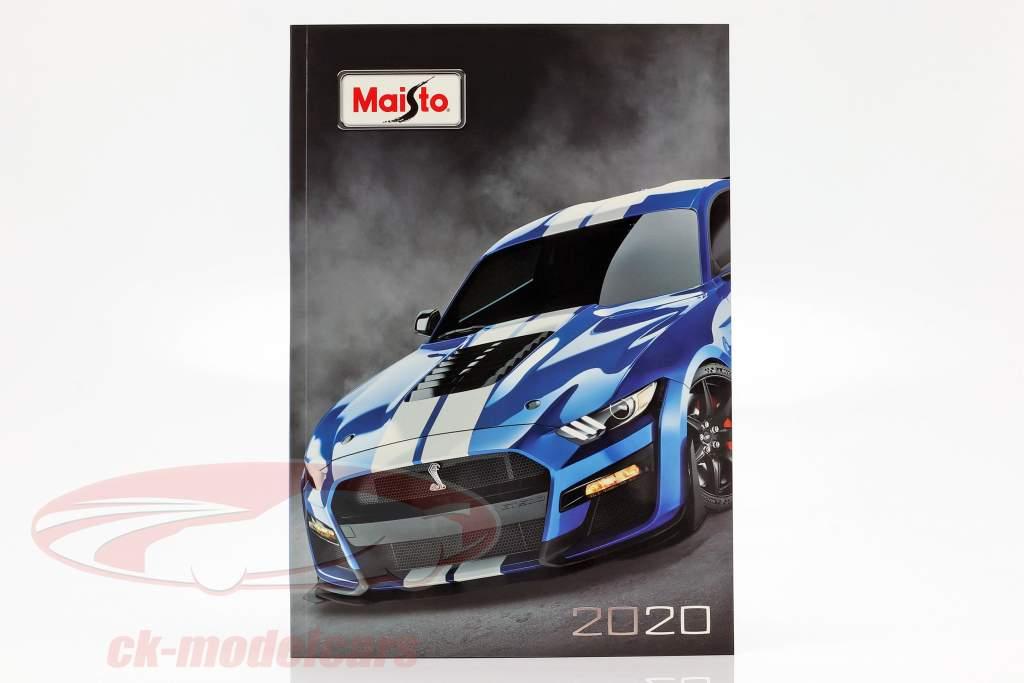 Maisto catálogo 2020