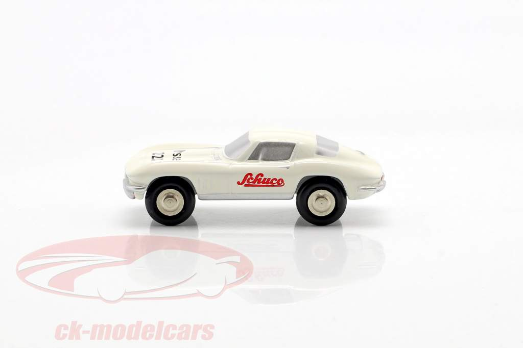 Chevrolet Corvette Toy Fair Norimberga 2020 bianco 1:90 Schuco Piccolo