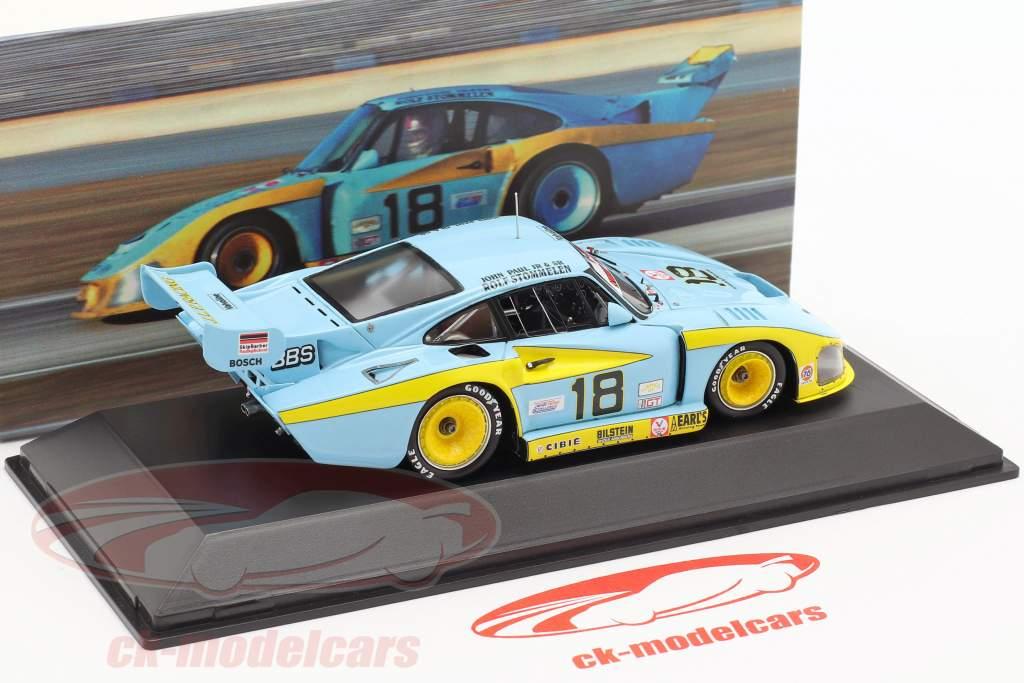 Porsche 935 #18 Ganador 24h Daytona 1982 JLP Racing 1:43 Spark