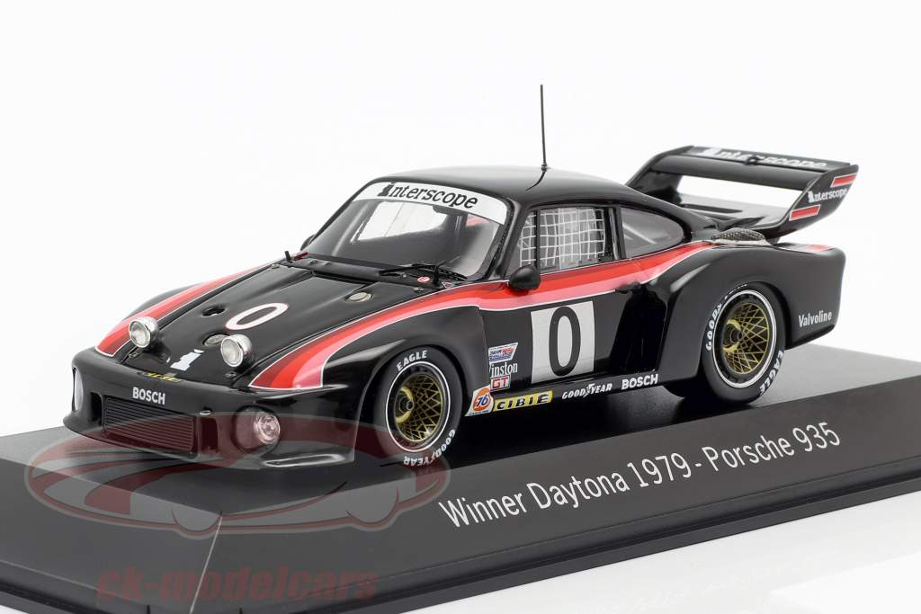 Porsche 935 #0 Winner 24h Daytona 1979 Interscope Racing 1:43 Spark