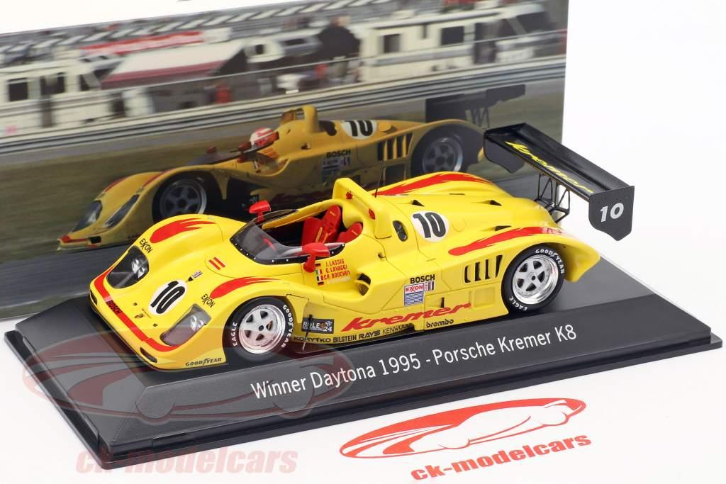Porsche Kremer K8 #10 Winnaar 24h Daytona 1995 Kremer Racing 1:43 Spark