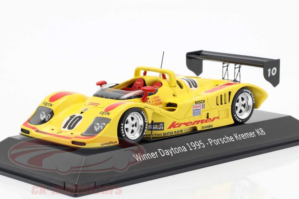 Porsche Kremer K8 #10 Ganador 24h Daytona 1995 Kremer Racing 1:43 Spark