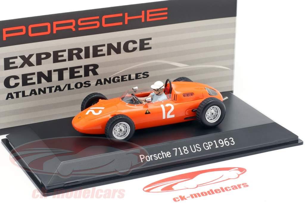 Spark 1 43 Carel Godin De Beaufort Porsche 718 12 Usa Gp Formula 1 1963 Map02018715 Model Car Map02018715