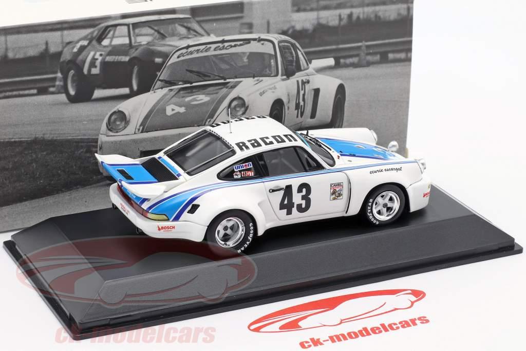 Porsche 911 Carrera RSR #43 Vencedor 24h Daytona 1977 Ecurie Escargot 1:43 Spark
