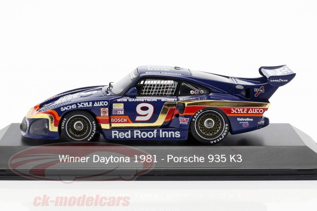 Porsche 935 K3 #9 Ganador 24h Daytona 1981 Garretson Racing 1:43 Spark
