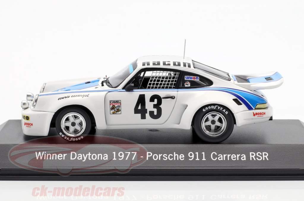 Porsche 911 Carrera RSR #43 Winner 24h Daytona 1977 Ecurie Escargot 1:43 Spark