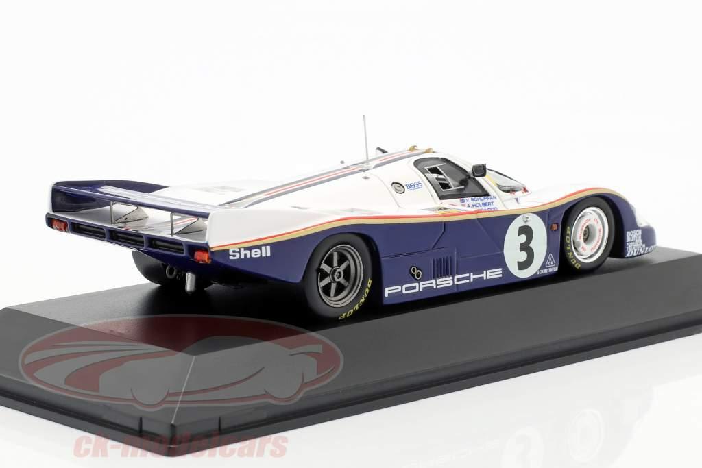 Porsche 956 LH #3 Winnaar 24h LeMans 1983 Schuppan, Holbert, Haywood 1:43 Spark