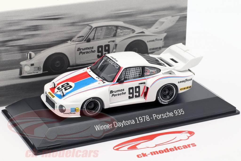 Porsche 935 #99 Gagnant 24h Daytona 1978 Brumos Porsche 1:43 Spark
