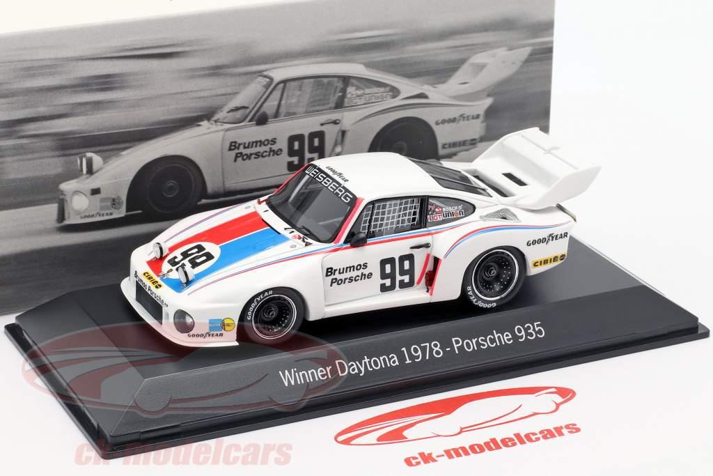 Porsche 935 #99 Winnaar 24h Daytona 1978 Brumos Porsche 1:43 Spark