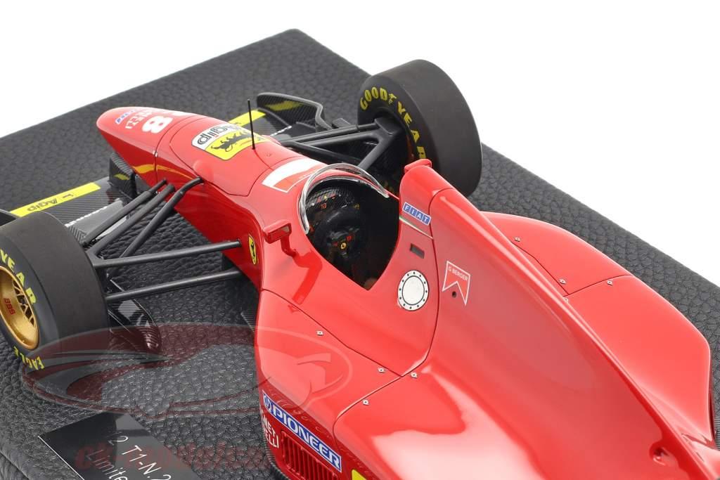 Gerhard Berger Ferrari 412T1 #28 formule 1 1994 1:18 GP Replicas