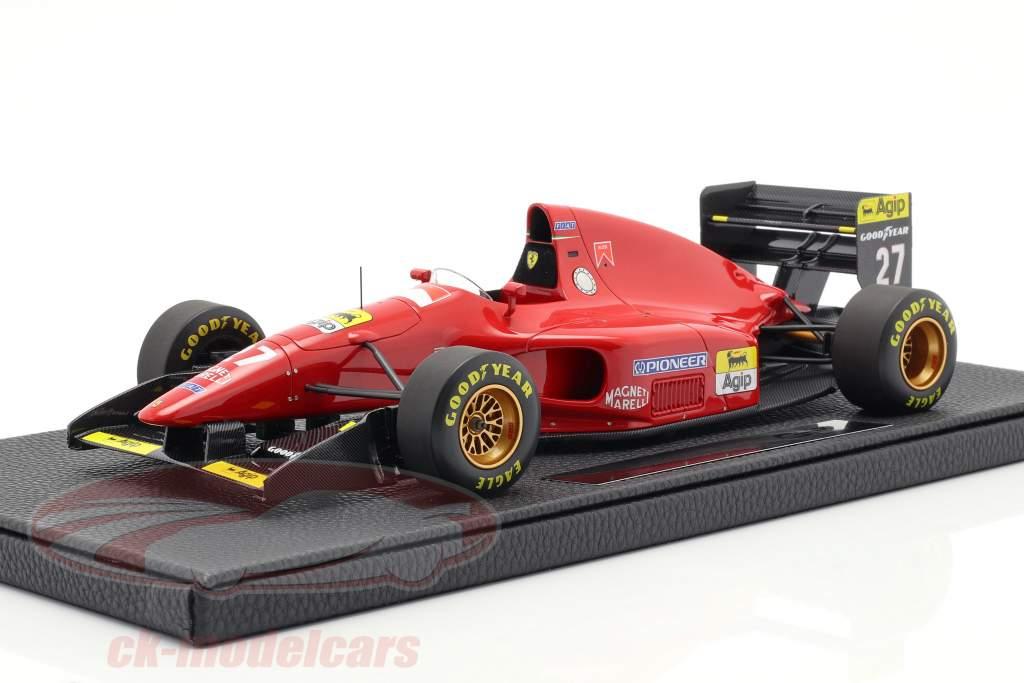 Jean Alesi Ferrari 412T1 #27 formule 1 1994 1:18 GP Replicas