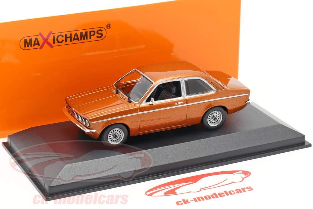 Opel Kadett C año 1974 bronce metálico 1:43 Minichamps