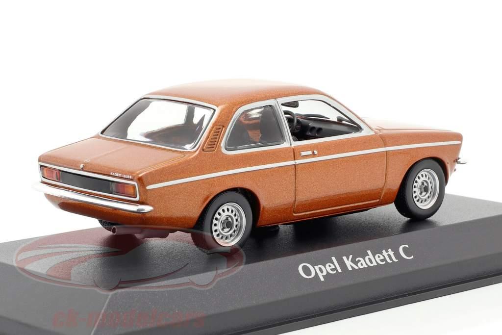 Opel Kadett C Baujahr 1974 bronze metallic 1:43 Minichamps