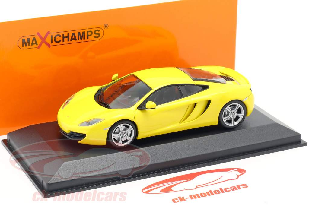 McLaren 12C año 2011 amarillo 1:43 Minichamps