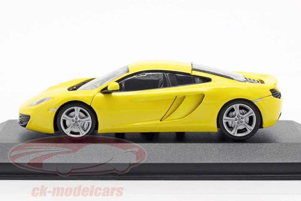 McLaren 12C år 2011 gul 1:43 Minichamps