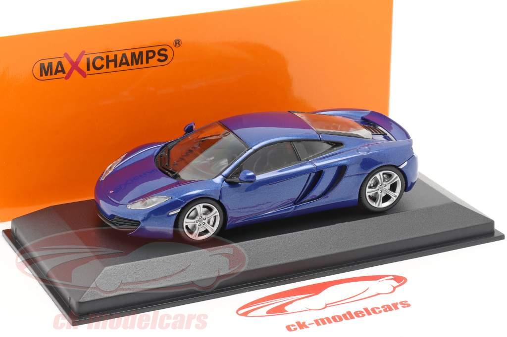 McLaren 12C année 2011 bleu 1:43 Minichamps