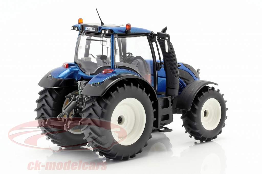 Valtra T214 Traktor blau metallic / schwarz 1:32 Wiking
