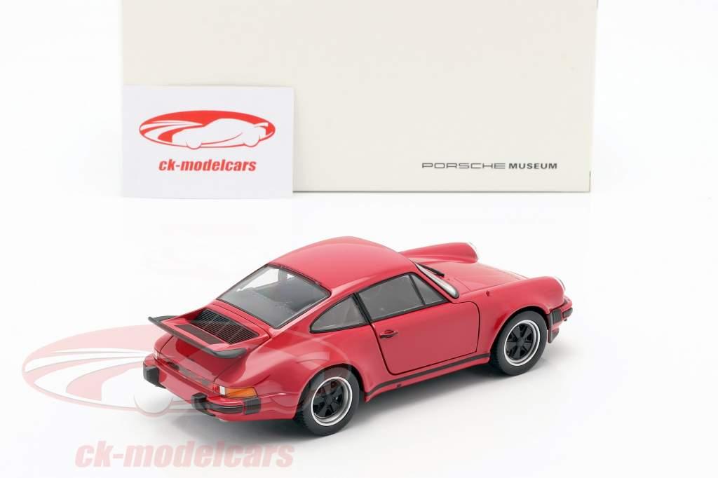 Porsche 911 (930) Turbo Baujahr 1975 rot 1:24 Welly