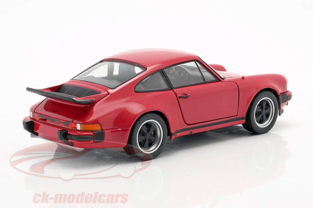 Porsche 911 (930) Turbo År 1975 rød 1:24 Welly