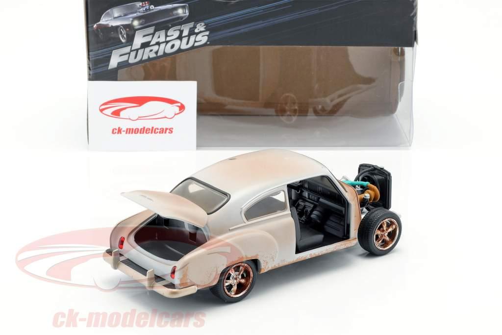 Dom's Chevrolet Fleetline Fast and Furious 8 マット 銀 1:24 Jada Toys