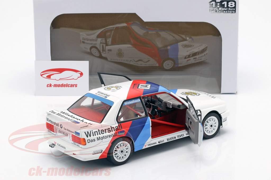 BMW M3 (E30) #14 ganador Norisring DTM 1992 Joachim Winkelhock 1:18 Solido