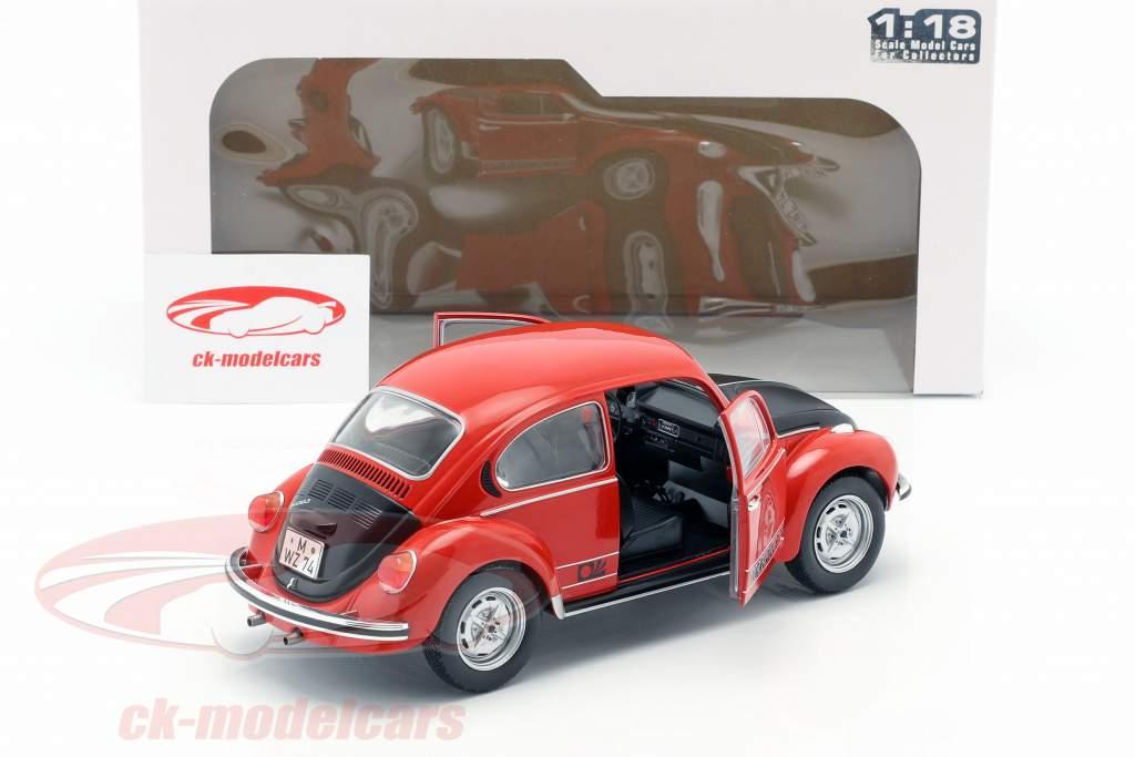Volkswagen VW escarabajo 1303 World Cup Edition 1974 rojo / negro 1:18 Solido