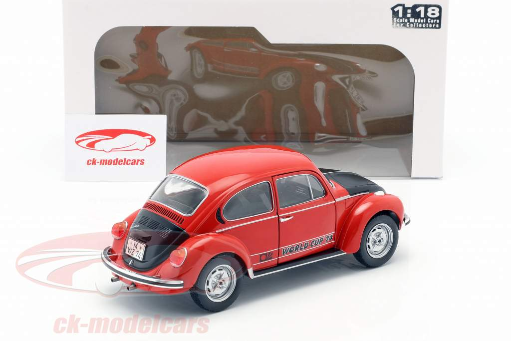 Volkswagen VW Beetle 1303 World Cup Edition 1974 red / black 1:18 Solido