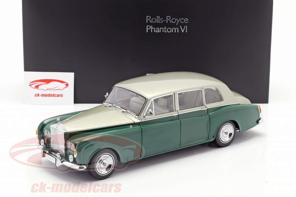 Rolls Royce Phantom VI green / silver 1:18 Kyosho
