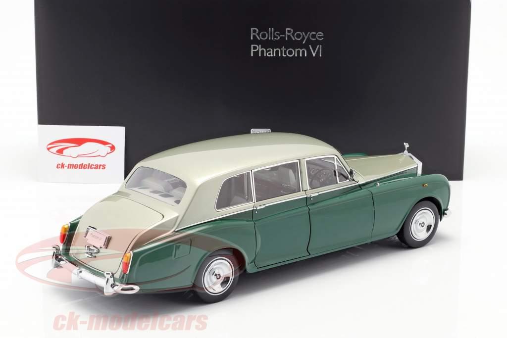 Rolls Royce Phantom VI grün / silber 1:18 Kyosho