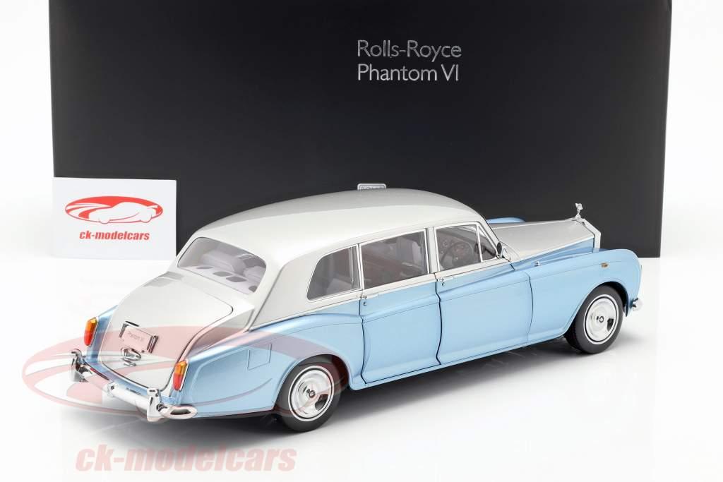 Rolls Royce Phantom VI light blue / silver 1:18 Kyosho