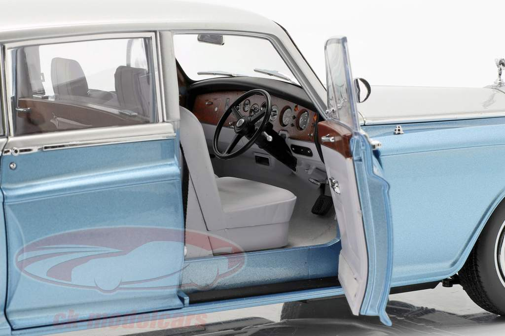 Rolls Royce Phantom VI hellblau / silber 1:18 Kyosho