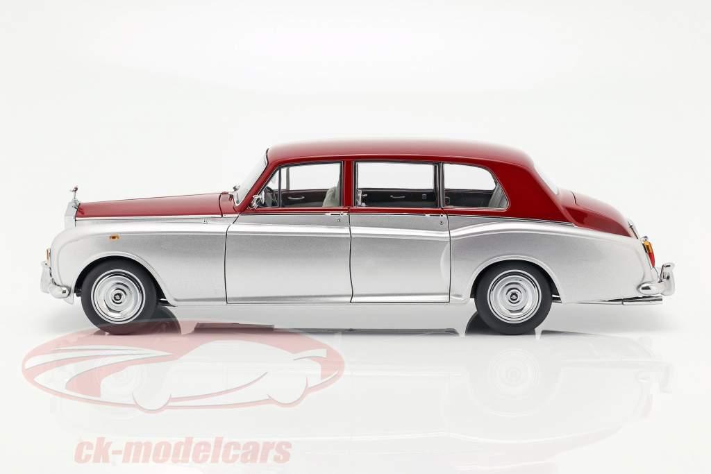 Rolls Royce Phantom VI prata / vermelho 1:18 Kyosho