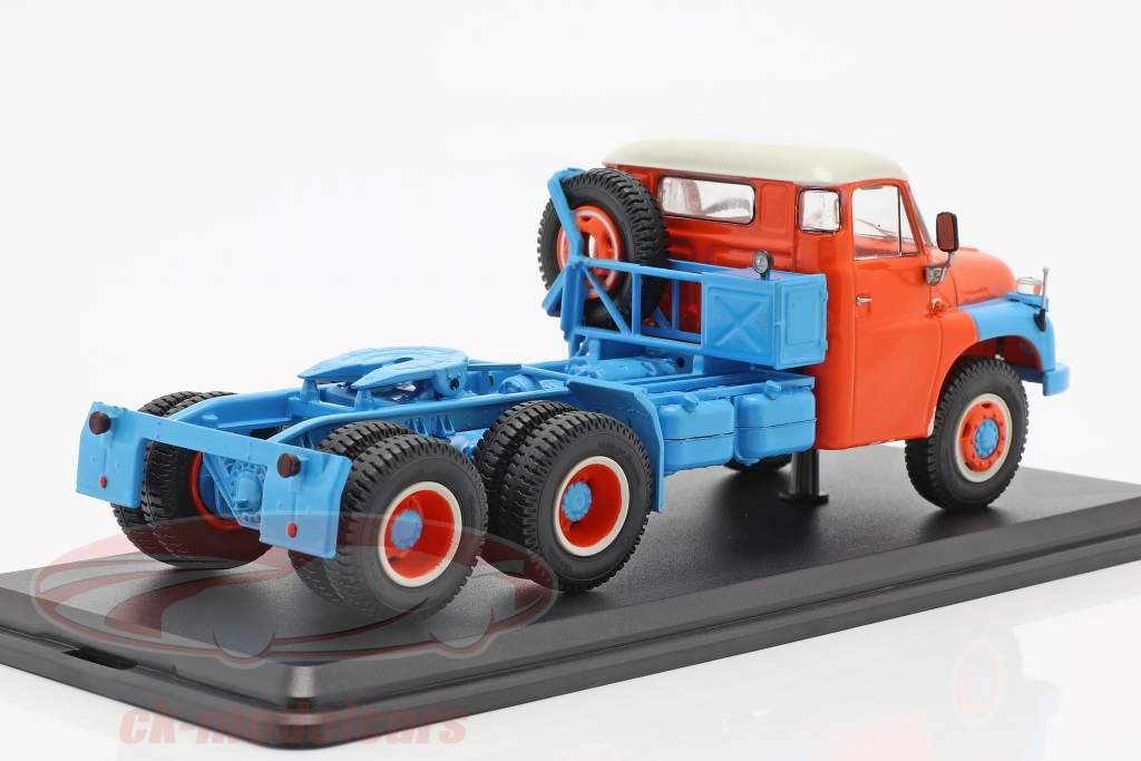 Tatra T148 Solozugmaschine blau / orange 1:43 Premium ClassiXXs