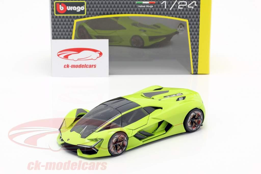 Lamborghini Terzo Millennio año de construcción 2019 luz verde 1:24 Bburago