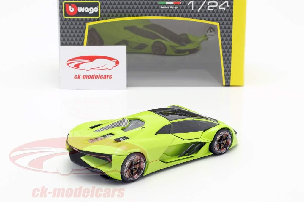 Lamborghini Terzo Millennio année de construction 2019 lumière vert 1:24 Bburago