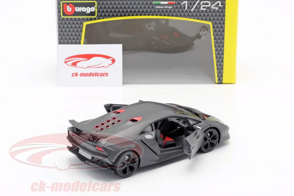 Lamborghini Sesto Elemento grey metallic 1:24 Bburago