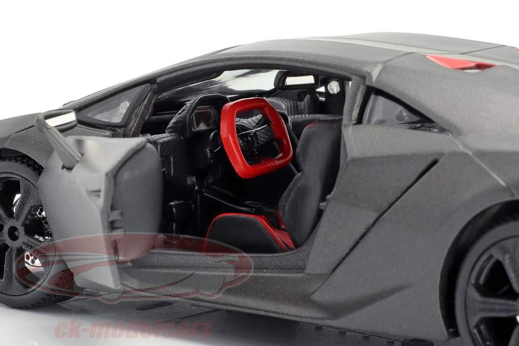 Lamborghini Sesto Elemento cinza metálico 1:24 Bburago